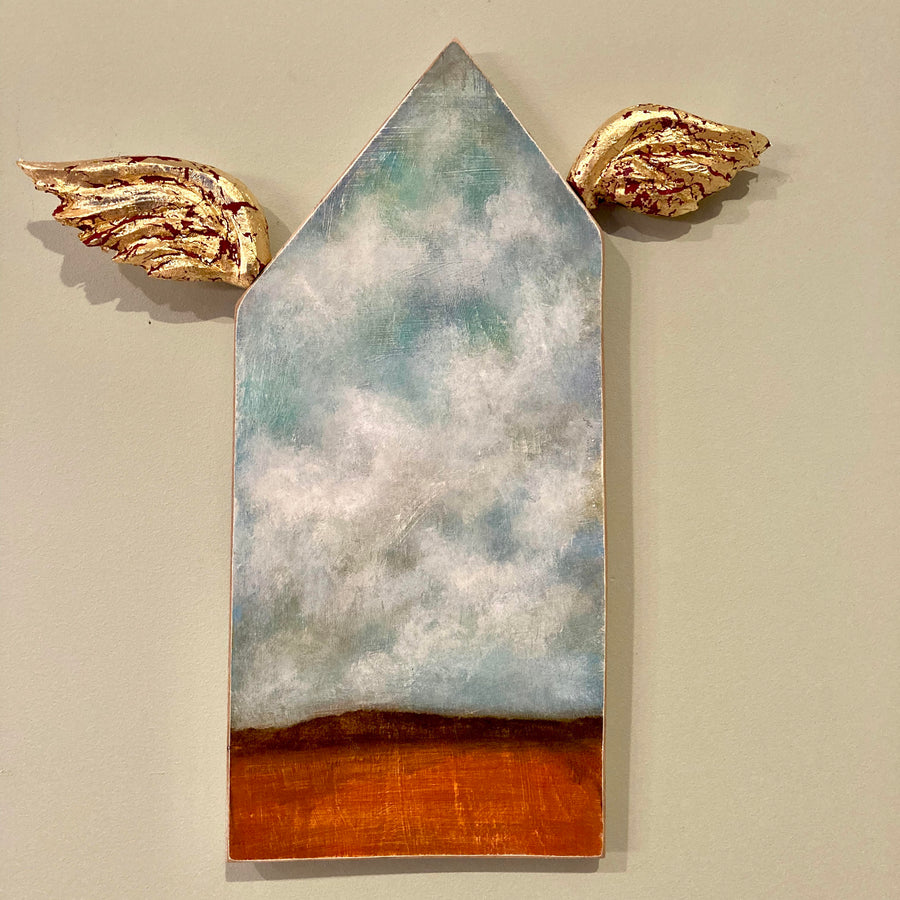 studio piece: house with wings #3