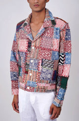 """Reminiscent"" Patchwork jacket"