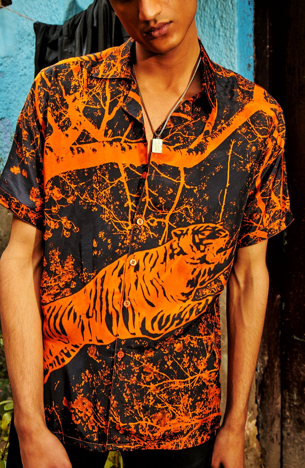 Midnight Tiger Shirt