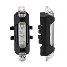 Load image into Gallery viewer, Rechargeable LED Bicycle Tail Light