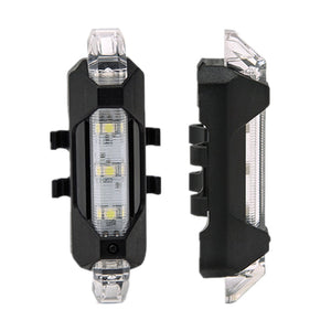 Rechargeable LED Bicycle Tail Light