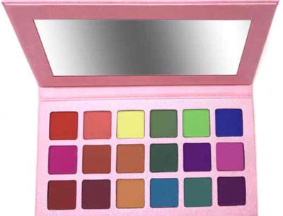 Pink 18 Color Eyes shadow palette