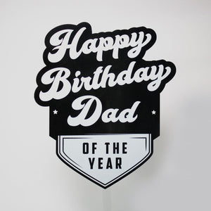 Best Dad Cake Topper