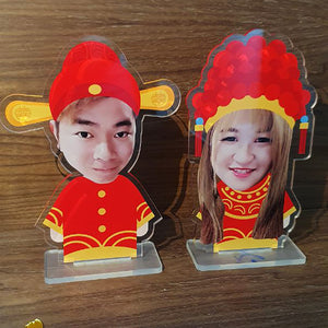 Chinese Couple Standee