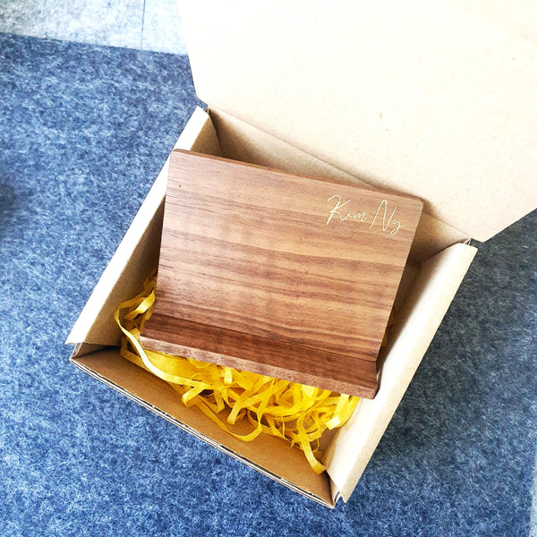 Business Card Holder Wood A