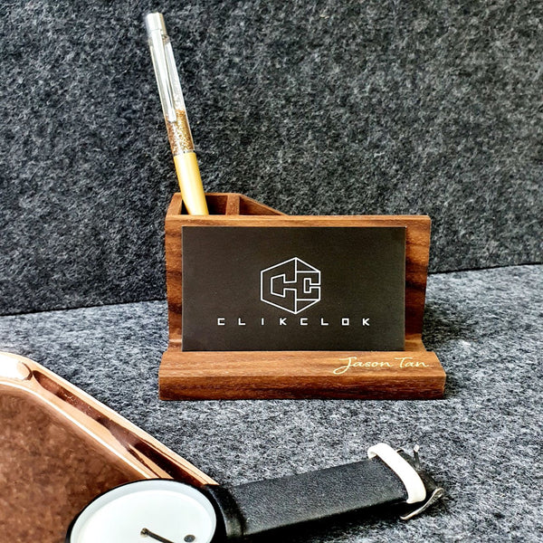 2in1 Business Card Holder