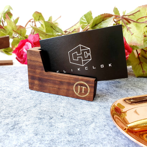 Business Card Holder Wood D