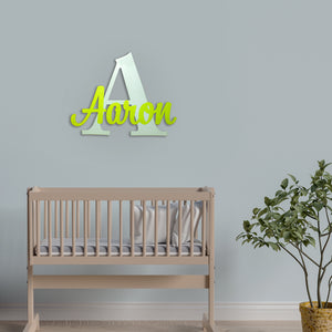 Personalized Room Decor Wooden Letters