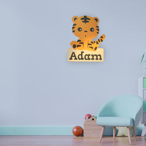 Personalized Nursery Decor Animal Series