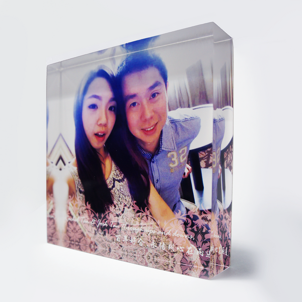 Acrylic Photo Block 80 x 80mm
