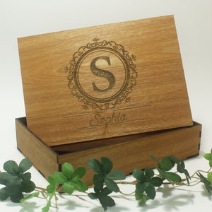 Wooden Keepsake Box Ash