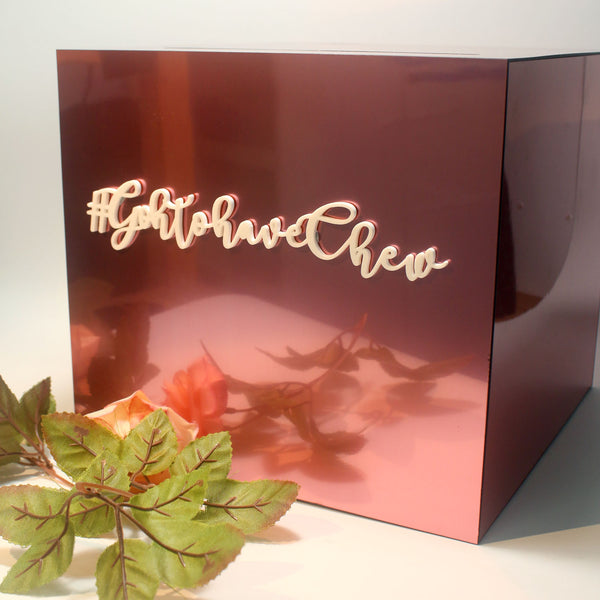 Rose Pink Wedding Angbao Box