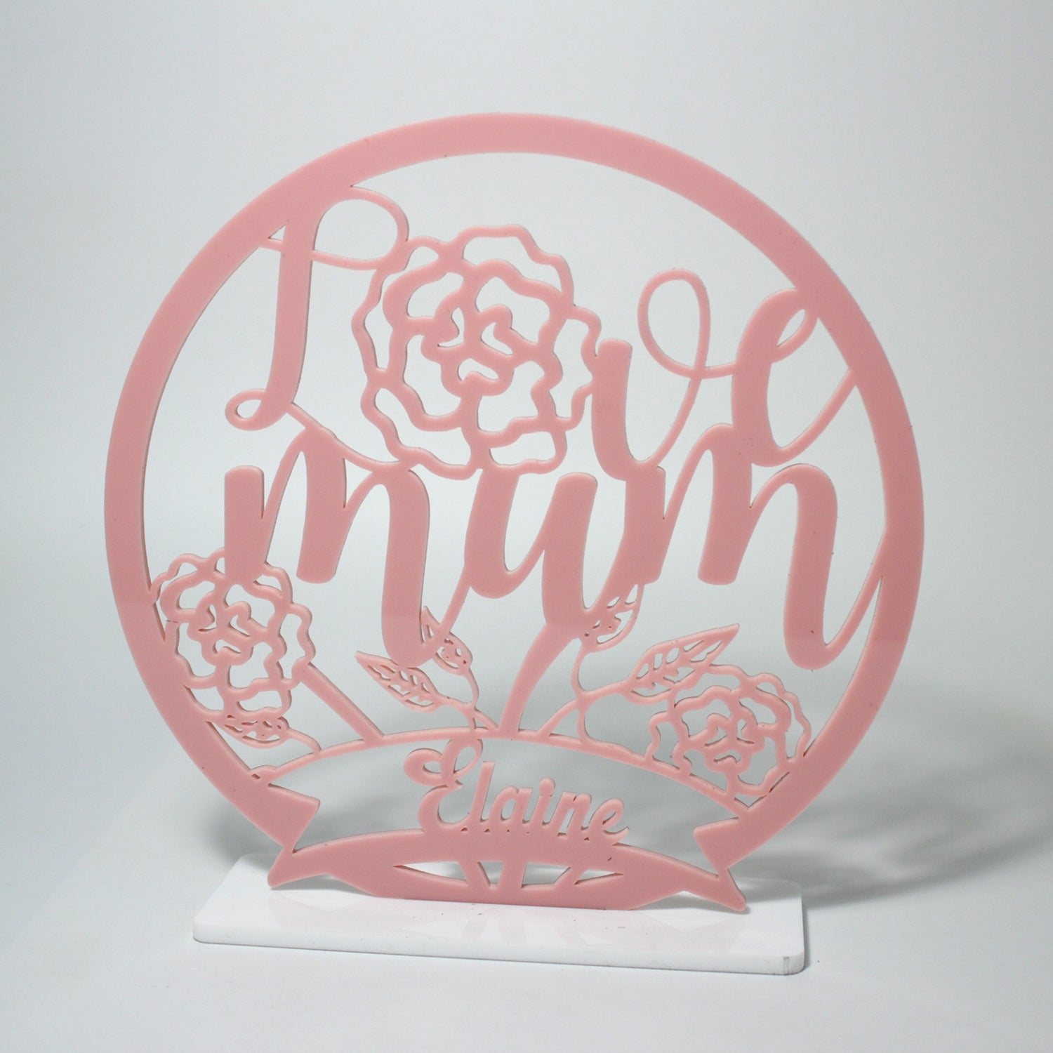 Love Mum Emblem | Mother's Day