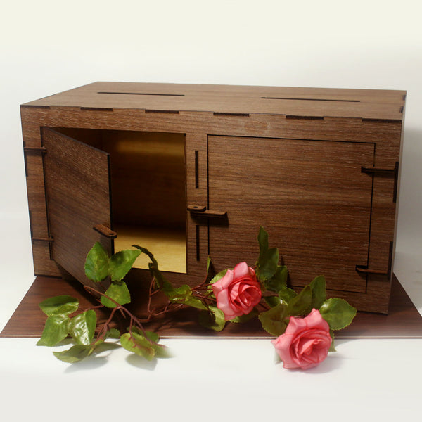 Double Compartment Wedding Angbao Box