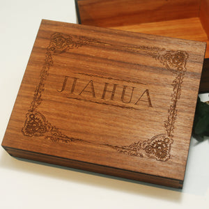 Wooden Keepsake Box Walnut