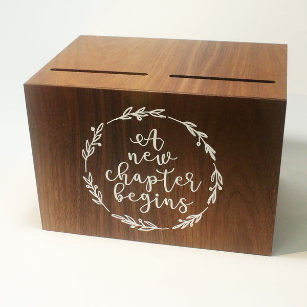 Double Compartment Wedding Angbao Box with Print