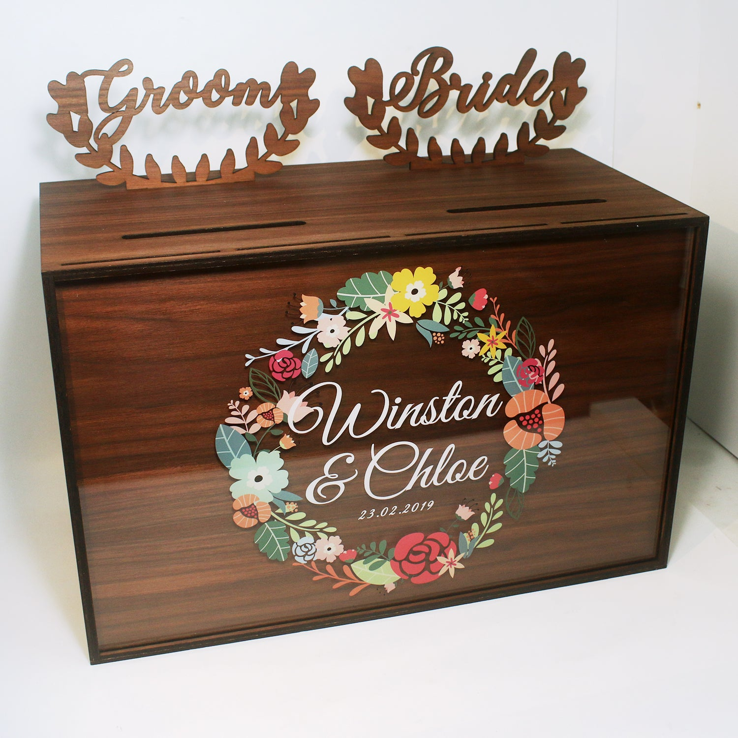 Wedding Angbao Box Dual Compartment