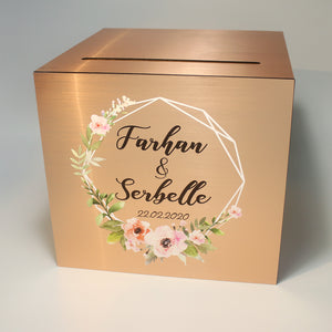 Champagne Gold Wedding Angbao Box