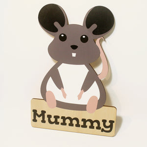 'Mouse' Nursery Decor Animal Series