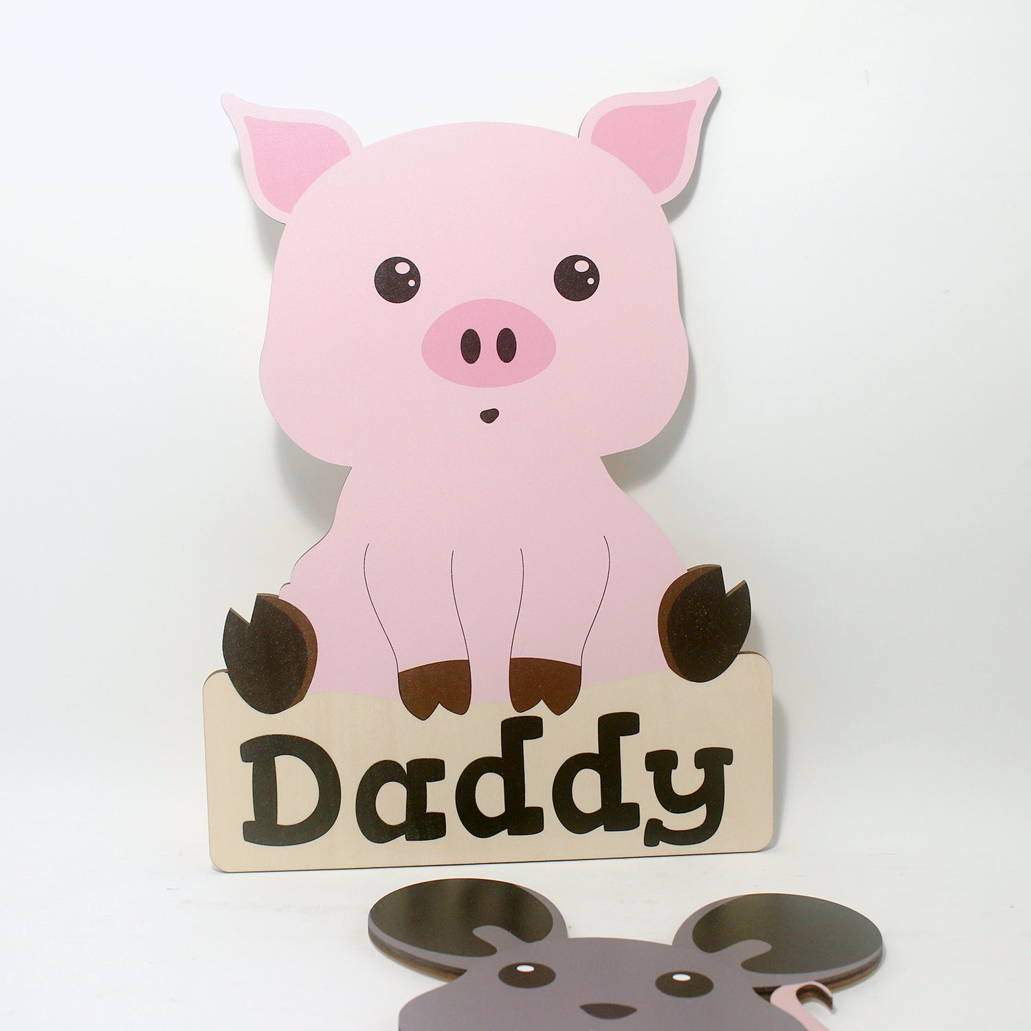 'Piggy' Nursery Decor Animal Series