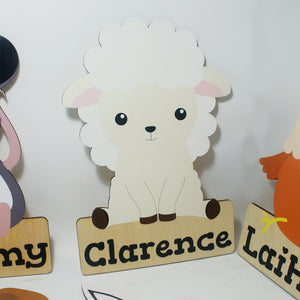 'Sheep' Nursery Decor Animal Series