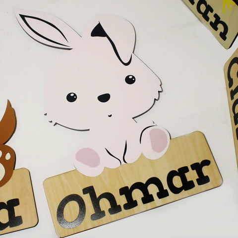 'Rabbit' Nursery Decor Animal Series