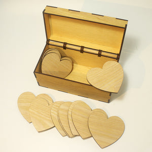 Wedding Guestbook Heart with Box