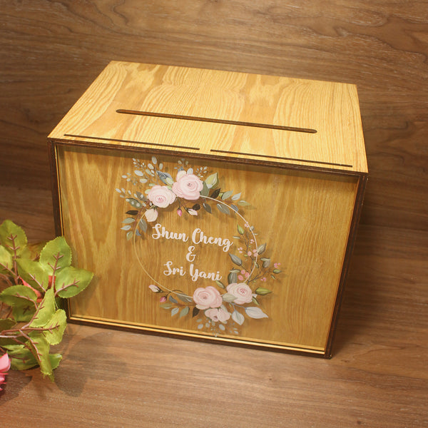 Wedding Heartdrop Angbao Box