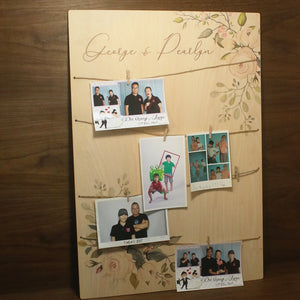 Photo Board Display