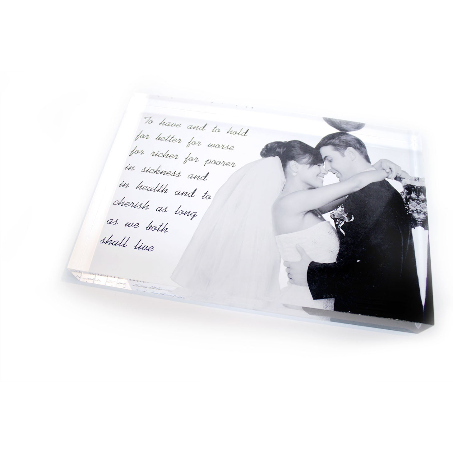 Acrylic Photo Block  9 x 6in