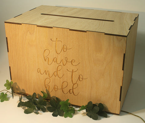 """To have & to Hold"" Wedding Angbao Box"