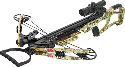 Precision Shooting Equip 18 Thrive 400 Crossbow Kryptek Highlander Camo Package