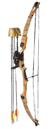 Arrow Precision Llc 15 Grizzly Youth Bow Set 55# D*193 X6