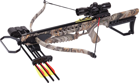 Crosman Corporation 18 Tyro 245 Crossbow Package