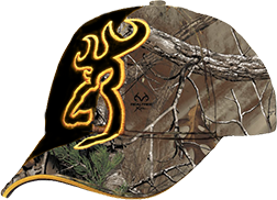 Browning Browning Big Buckmark Hat Realtree Xtra/Flash Black