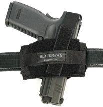 Blackhawk Flat Belt Holster Medium to Large Frame Autos 40FB02BK
