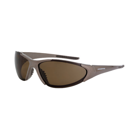 Crossfire Blitz Protective Eyewear Mocha Brown with HD Brown