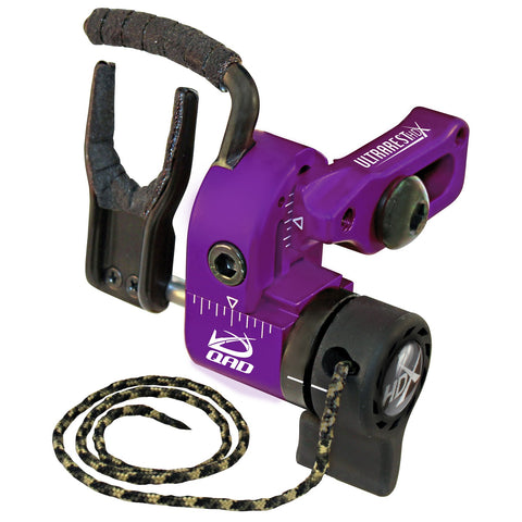 QAD Ultra-Rest HDX Left Hand Purple