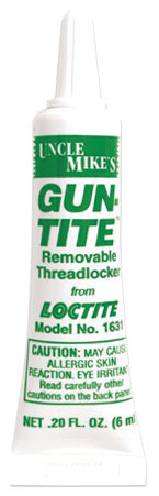 Uncle Mike's Gun-Tite Adhesive Medium Strength .2 oz Tube