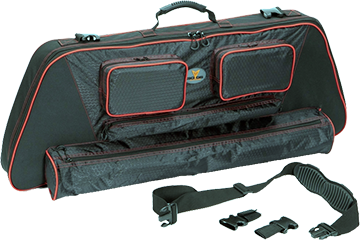 "30-06 Outdoors Llc Slinger 41"" Bow Case System w/Red Accent"