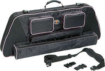 "30-06 Outdoors Llc Slinger 41"" Bow Case System w/Pink Accent"