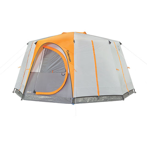Coleman Octagon 98 2 Room 8 Man Tent with Full Rainfly