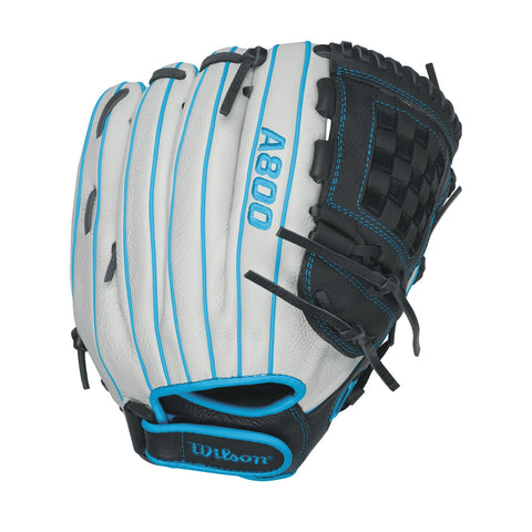 Wilson A800 Aura Fastpitch Softball 12in Pitcher/IF Glove-LH