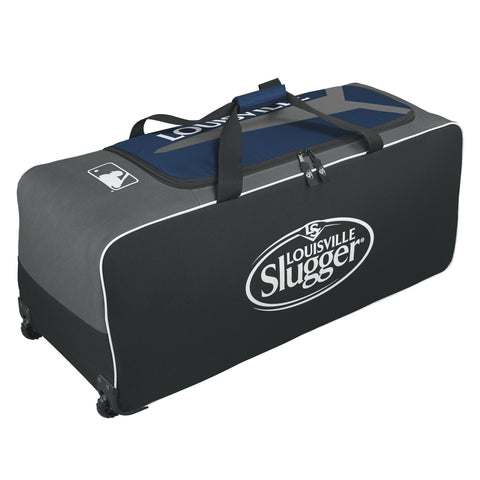 Louisville Slugger Series 5 Ton Wheeled Bag-Navy
