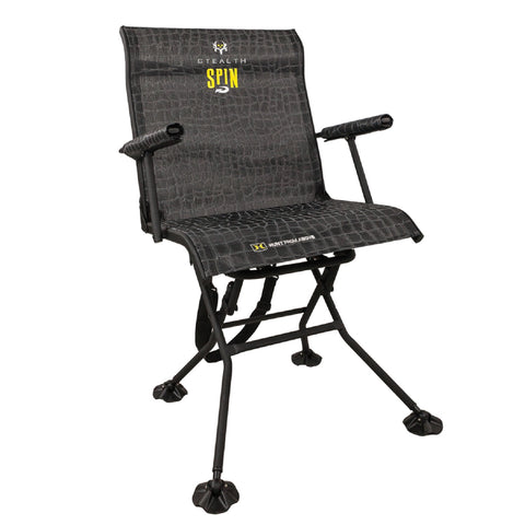 Hawk Treestands Hawk Stealth Spin Blind Chair Bone Collector 3103