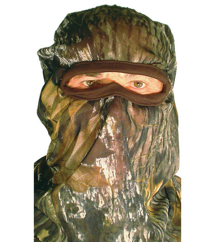 Quaker Boy Bandit Full Facemask Mossy Oak Break Up