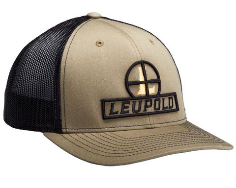 Leupold Hat Leupold Optics Loden/Black Flat Brim Trucker Cap 170585