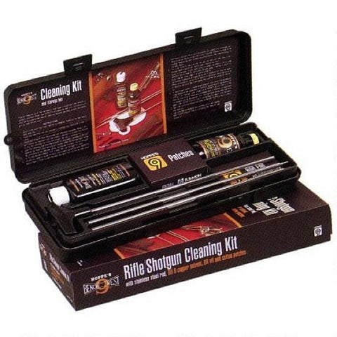 Hoppe's Gun Cleaning with Aluminum Rod Kit for Rifle and Shotgun with Box UO