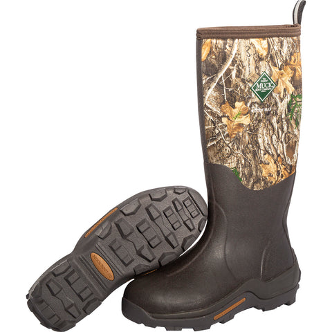 Muck Woody Max Hunting Boots Realtree Edge