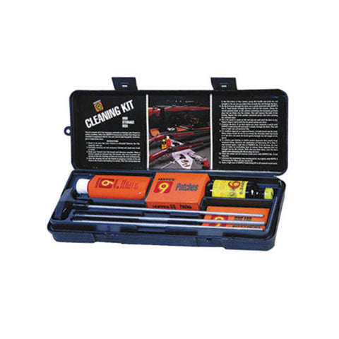 Hoppe's Gun Cleaning Kit with Aluminum Rod for .38/.357/9mm Pistol PCO38